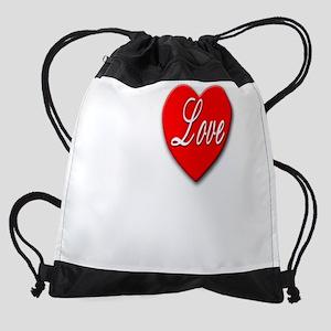 ILoveCycling10x8Trans Drawstring Bag