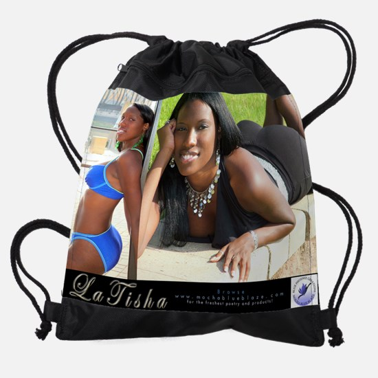 November Tisha.jpg Drawstring Bag