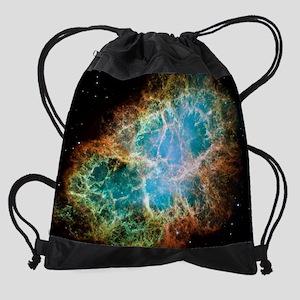 Crab Nebula 2005Calendar Print Drawstring Bag