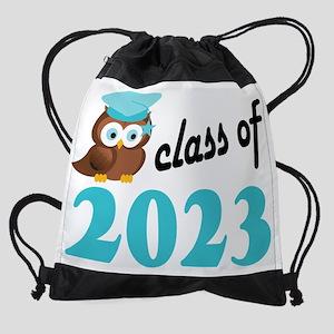 Class of 2023 Owl Drawstring Bag