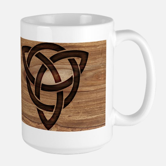 celtic knot Stainless Steel Travel Mugs