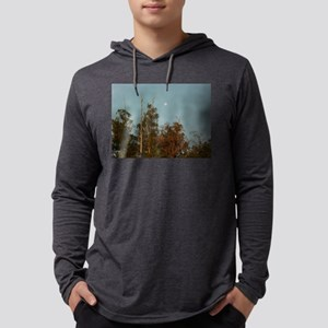 Eucalyptis tree grove at Thousnd Mens Hooded Shirt