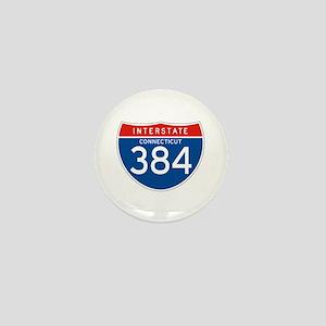 Interstate 384 - CT Mini Button