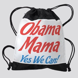 Obama Mama Yes We Can! Drawstring Bag