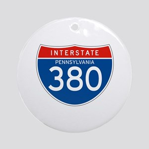 Interstate 380 - PA Ornament (Round)