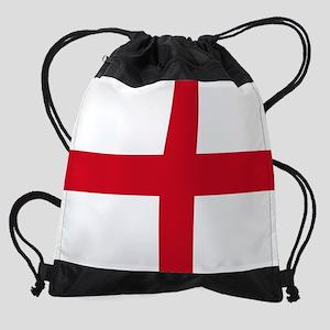 England Flag Drawstring Bag