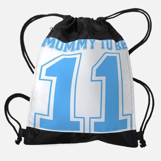mommytobe11blue.png Drawstring Bag