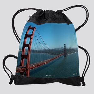 GoldenGate1 Drawstring Bag