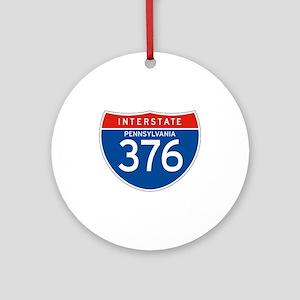 Interstate 376 - PA Ornament (Round)