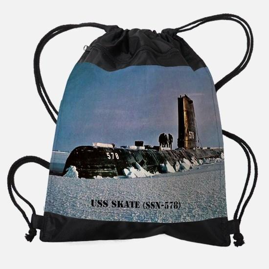 2-skate calendar.jpg Drawstring Bag