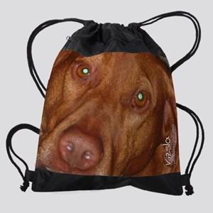 calendar-vizsla Drawstring Bag
