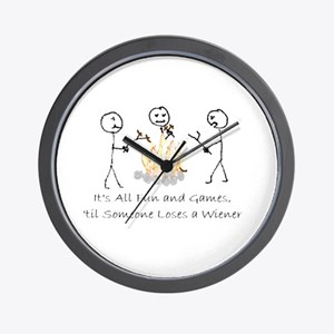 Lost Wiener Wall Clock