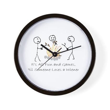 Lost Wiener Wall Clock