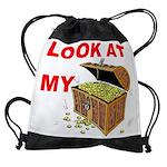 TREASURE CHEST.jpg Drawstring Bag