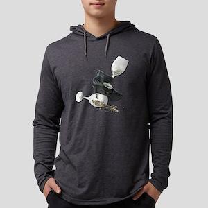 HighHeelShoesWineGlassStars01021 Mens Hooded Shirt
