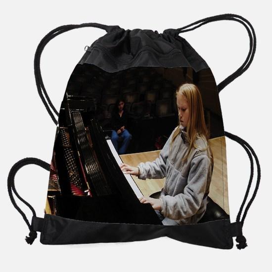 Feb.png Drawstring Bag