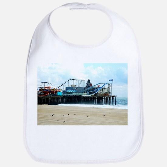 Jersey Shore Seaside Heights Boardwalk Coaster Bib