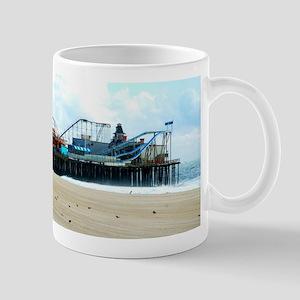 Jersey Shore Seaside Heights Boardwalk Coaster Mug