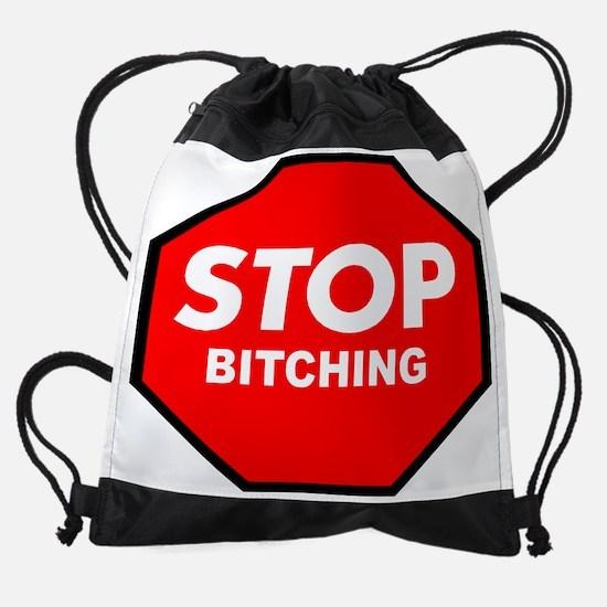 STOP Drawstring Bag