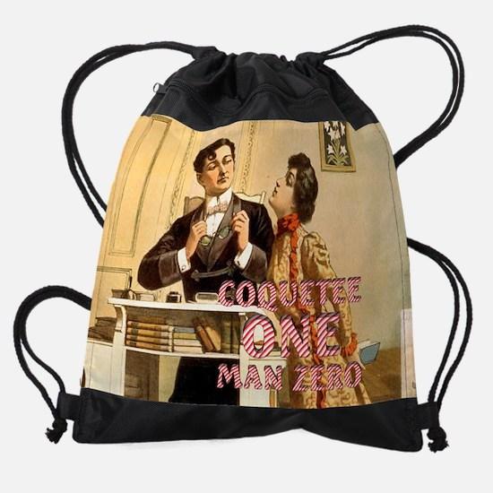 coquette Drawstring Bag