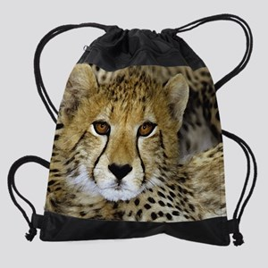 cheetahcalendar-06 Drawstring Bag