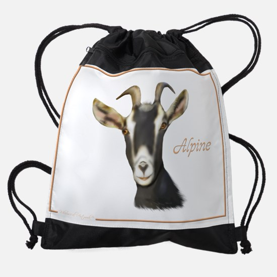 alpine.png Drawstring Bag