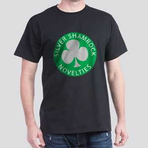 Silver Shamrock Dark T-Shirt