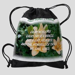 miraclelily3cp Drawstring Bag