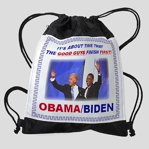 bidenobamagoodguys Drawstring Bag