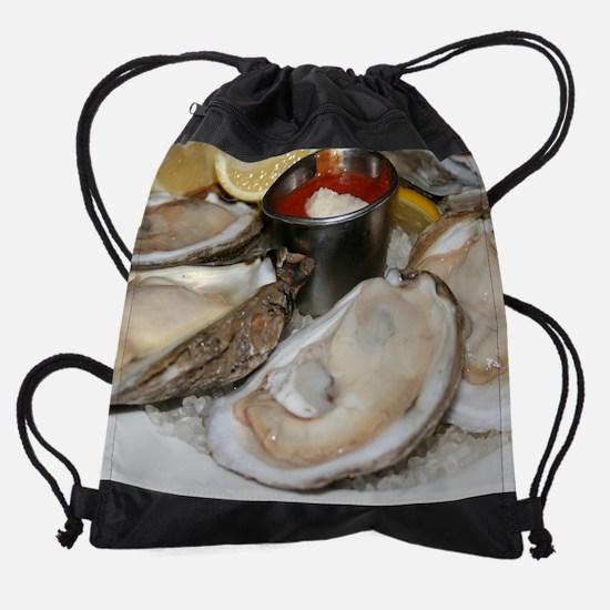 oysters.jpg Drawstring Bag