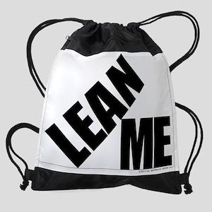 200300-Lean On Me Drawstring Bag