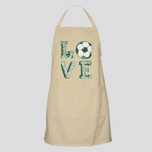 Love Soccer Light Apron