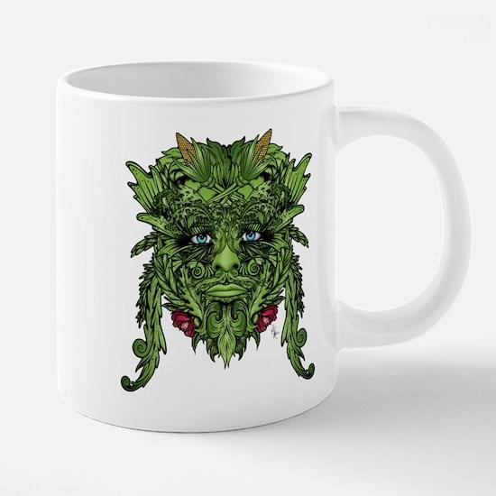 Green Man Large Mugs