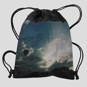 CAB_MBsunrise_ballo... Drawstring Bag
