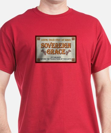 Sovereign Grace Tee in Reformation-Red or other
