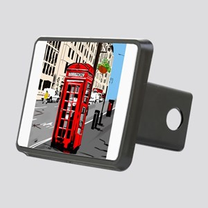 The red telephone box Hitch Cover