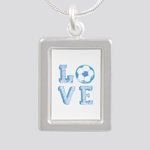 Love Soccer Necklaces