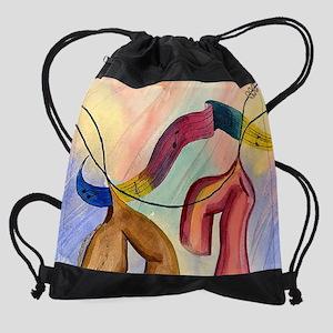 calendar 2010 dancing pants Drawstring Bag