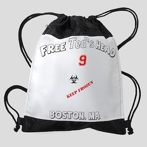 teds_head_final_bwr Drawstring Bag