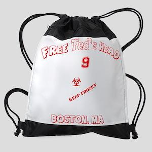 teds_head_final_dark Drawstring Bag