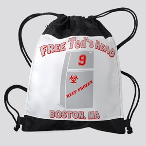 teds_head_final_light Drawstring Bag