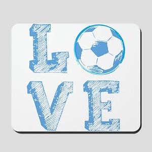 Love Soccer Mousepad