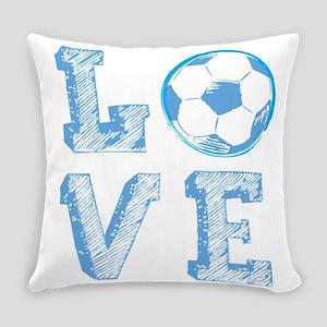 Love Soccer Everyday Pillow