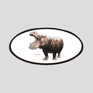 Hippopotamus Animal Patches