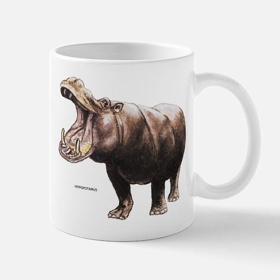 Hippopotamus Animal Mug