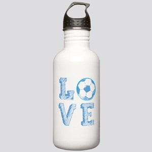 Love Soccer Stainless Water Bottle 1.0L