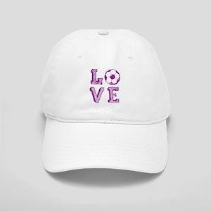 Girly Love Soccer Cap