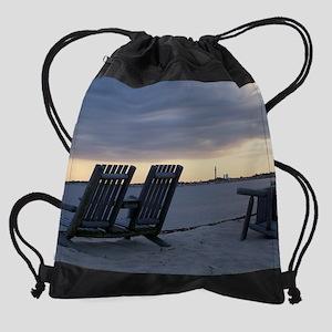 Ptown_duskchairs Drawstring Bag