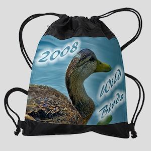 WildBirdWCALcvr copy Drawstring Bag