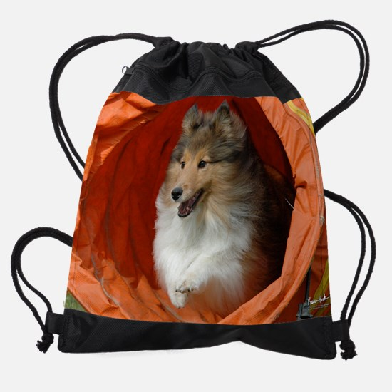 callieTunnel_wideCal.png Drawstring Bag